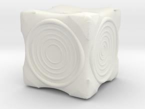 Ring Die in White Natural Versatile Plastic