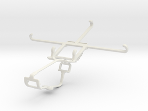 Controller mount for Xbox One & Acer Liquid Z520 in White Natural Versatile Plastic