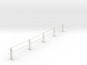PRR HANDRAIL O SCALE in White Natural Versatile Plastic