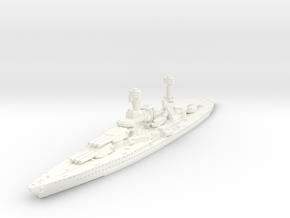 1/1250 USS South Dakota BB 1920 in White Processed Versatile Plastic