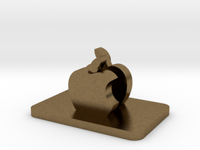 Tripod Cell Phone Holder in Natural Bronze