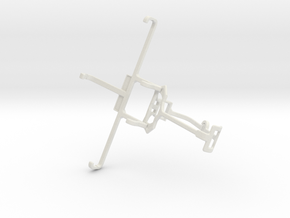 Controller mount for Xbox One & Allview E2 Jump in White Natural Versatile Plastic
