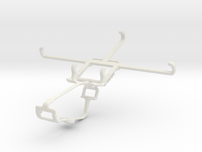 Controller mount for Xbox One & BLU Life One XL in White Natural Versatile Plastic