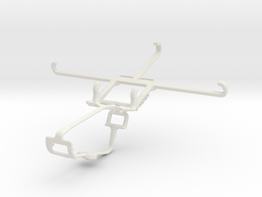 Controller mount for Xbox One & BLU Pure XR in White Natural Versatile Plastic