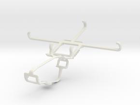 Controller mount for Xbox One & Lenovo P2 in White Natural Versatile Plastic