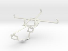 Controller mount for Xbox One & Lenovo ZUK Z2 in White Natural Versatile Plastic