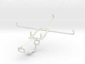 Controller mount for Xbox One & Micromax Canvas Ta in White Natural Versatile Plastic