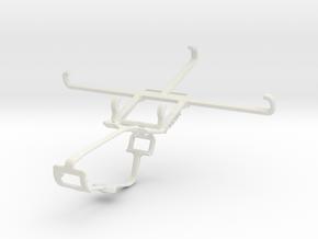 Controller mount for Xbox One & Microsoft Lumia 95 in White Natural Versatile Plastic