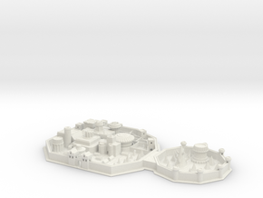Winterfell in White Natural Versatile Plastic