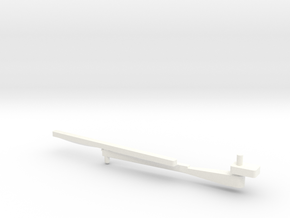 Wessex Wiper Left in White Strong & Flexible Polished