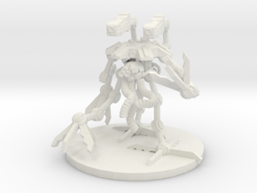 MR Crawler Tri Pod Bot in White Strong & Flexible
