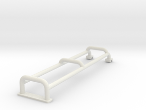 Ladder for roofrack D90 D110 Adventure Team Raffee in White Natural Versatile Plastic