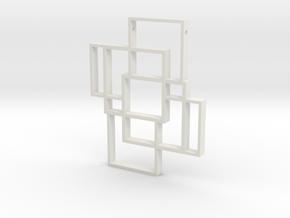 Windows Of Worlds in White Natural Versatile Plastic