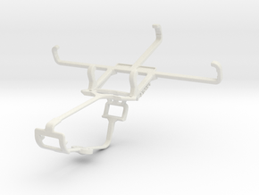 Controller mount for Xbox One & Sony Xperia E4g Du in White Natural Versatile Plastic