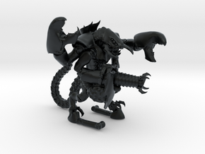 Moloch 001 Dorntentakelkanone 28mm in Black Hi-Def Acrylate