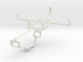 Controller mount for Xbox One & verykool s4007 Leo in White Natural Versatile Plastic