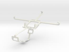 Controller mount for Xbox One & vivo X5Max+ in White Natural Versatile Plastic