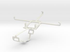 Controller mount for Xbox One & vivo X6Plus in White Natural Versatile Plastic
