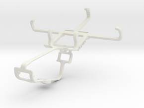 Controller mount for Xbox One & Yezz Andy 3.5E2I in White Natural Versatile Plastic