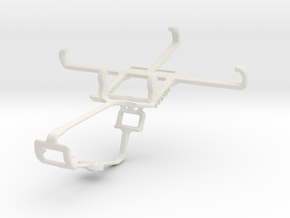 Controller mount for Xbox One & Xolo A500S in White Natural Versatile Plastic