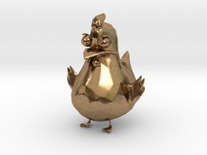 Chicken in Natural Brass