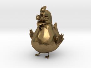 Chicken in Natural Bronze