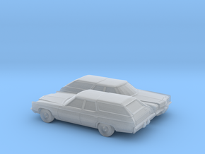 1/160 2X 1972 Impala Kingswood Station Wagon in Frosted Ultra Detail