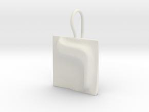 20 Resh Earring in White Natural Versatile Plastic