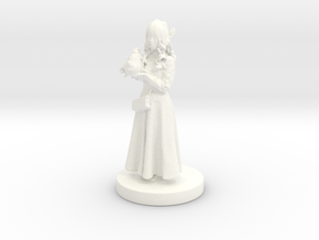 Printle C Femme 189 - 1/24 in White Processed Versatile Plastic