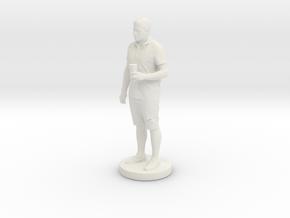 Printle T Homme 091 - 1/24 in White Natural Versatile Plastic