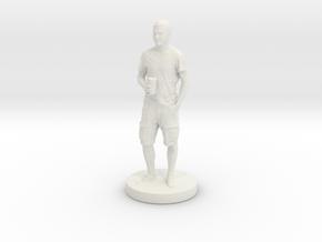 Printle T Homme 092 - 1/24 in White Natural Versatile Plastic