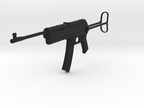 Sturmgewehr MP 45(M), Stock Out, Storm Rifle, 1/6 in Black Natural Versatile Plastic