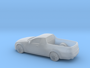 1/87 2015 Holden Ute in Frosted Ultra Detail