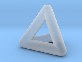 0278 Tetrahedron V&E (full color) in Smooth Fine Detail Plastic