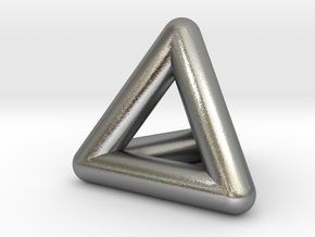 0278 Tetrahedron V&E (full color) in Natural Silver (Interlocking Parts)