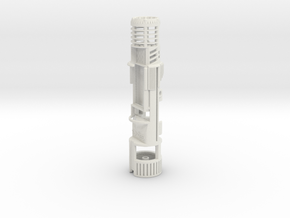 ASK-SHOTO-CS - NWX Ahsoka small CS kit in White Natural Versatile Plastic