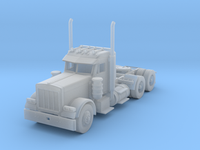 Peterbilt 379 Daycab 1:160 scale in Smooth Fine Detail Plastic
