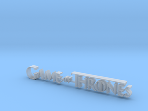 Game of Thrones Logo 8 cm in Smoothest Fine Detail Plastic