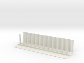 MARKET SUBWAY SLEAVE N SCALE in White Natural Versatile Plastic