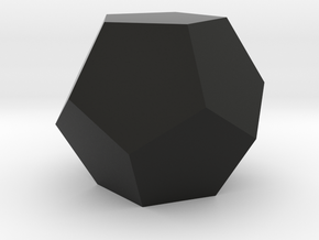 Dodecahedron in Black Strong & Flexible
