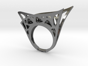 Parallel Universe Ring in Polished Silver: 6.5 / 52.75