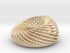 [Pendant]Nest in 14k Gold Plated Brass