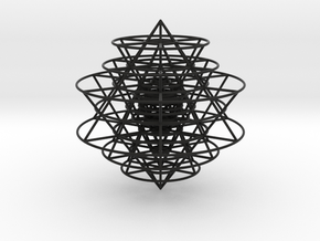 Sri Yantra Array in Black Strong & Flexible