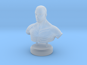 """""""Fading Honor"""" - Sculpture in Smooth Fine Detail Plastic"""
