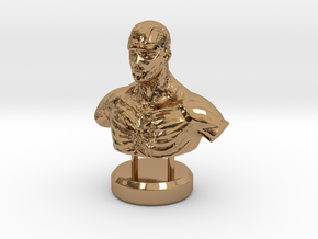 """""""Fading Honor"""" - Sculpture in Polished Brass"""