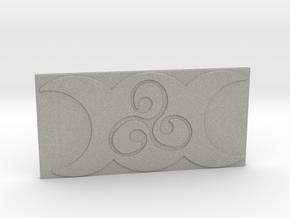 Triple Moon Triskele Tile by ~M. in Aluminum
