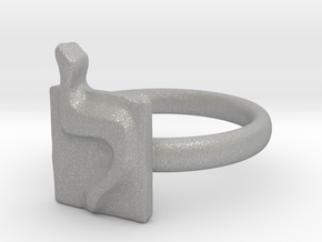 12 Lamed Ring in Aluminum: 7 / 54