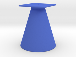 Pokestop Tree Topper Cone in Blue Strong & Flexible Polished