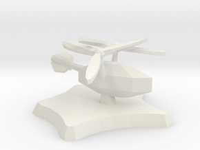 Wild Wind aircraft in White Natural Versatile Plastic