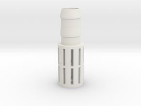 Hose end filter in White Natural Versatile Plastic